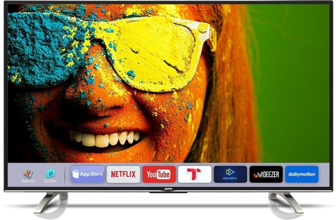 [ Refurbished ] Sanyo Smart 107.95cm (43 inch) Full HD LED Smart TV  (XT-43S8100FS) at Rs.17,999