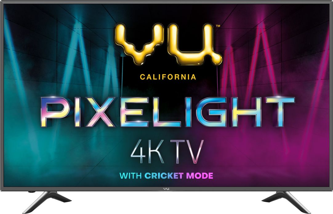 Vu Pixelight 126cm (50 inch) Ultra HD (4K) LED Smart TV with Cricket Mode at Rs.24999