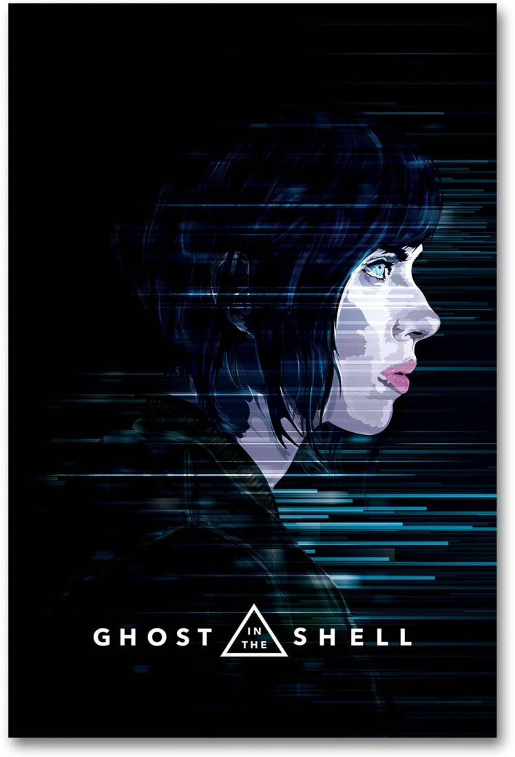 Hollywood Movie Wall Poster Ghost In The Shell Hd Quality Poster Paper Print Decorative Posters In India Buy Art Film Design Movie Music Nature And Educational Paintings Wallpapers At Flipkart Com