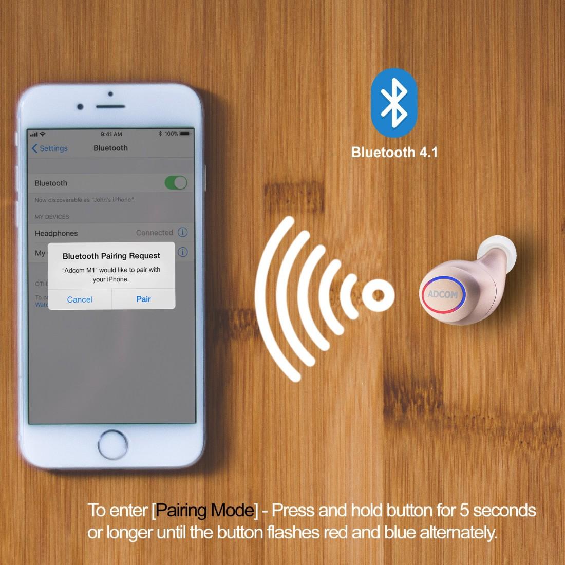 Adcom M1 Wireless Bluetooth Mini Earbuds Bluetooth Headset Price In India Buy Adcom M1 Wireless Bluetooth Mini Earbuds Bluetooth Headset Online Adcom Flipkart Com