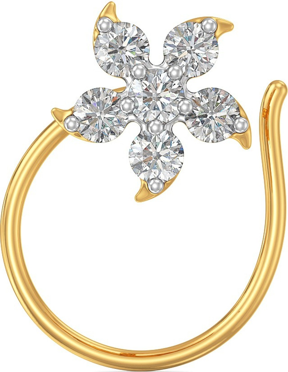 Joyalukkas Joyalukkas Pride Diamond Collection White Gold Nosepin