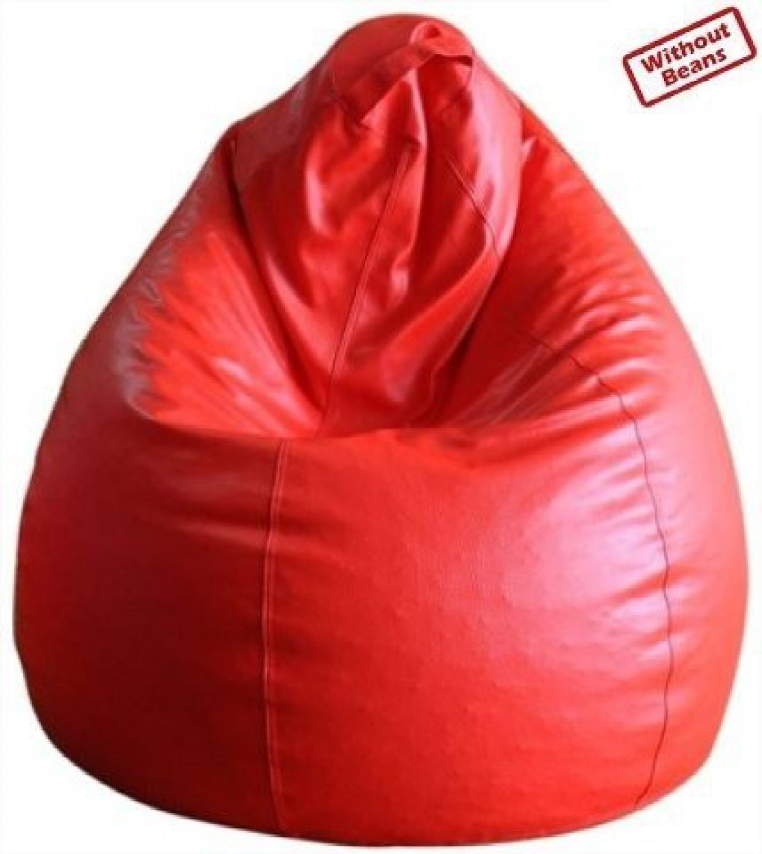 Fab Homez Large Teardrop Bean Bag Cover  (Without Beans)