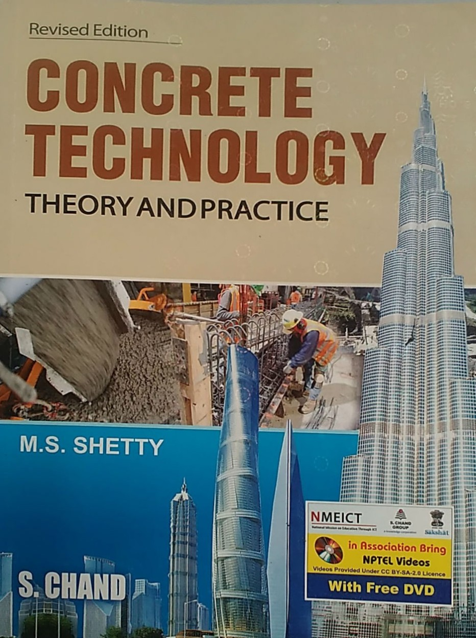 Concrete Technology Theory and Practice (Multi Colour) (Paperback) Concrete Technology Theory and Practice (Multi Colour) - M. S. Shetty