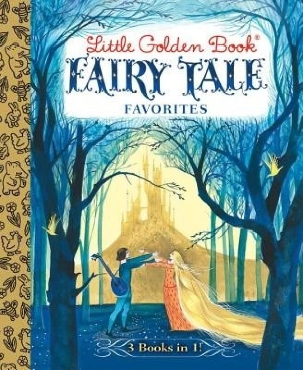Little Golden Book Fairy Tale Favorites (Little Golden Book Favorites) by Brothers Grimm,Hans Christian Andersen