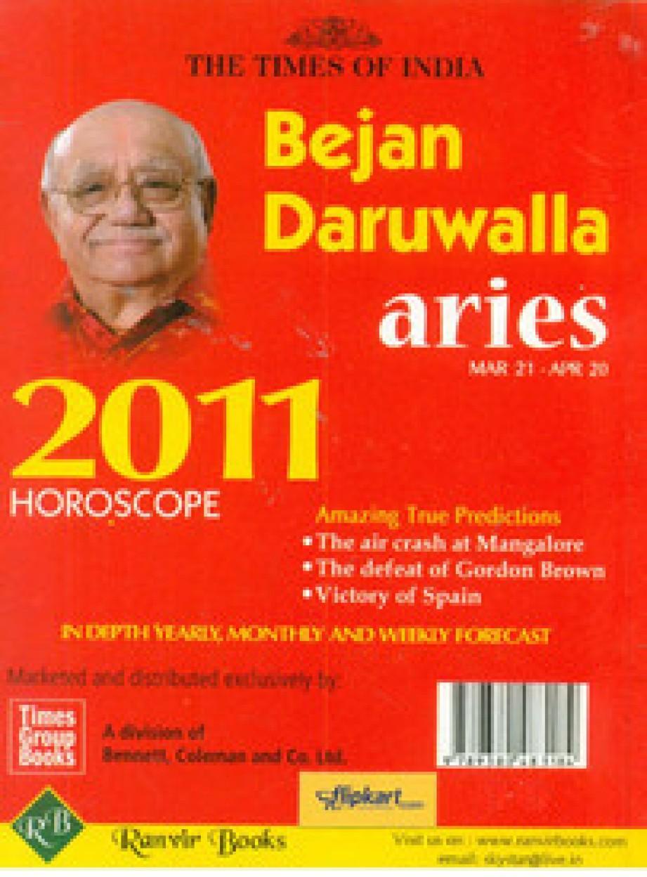 Aries - English - 2011 - Bejan Daruwalla