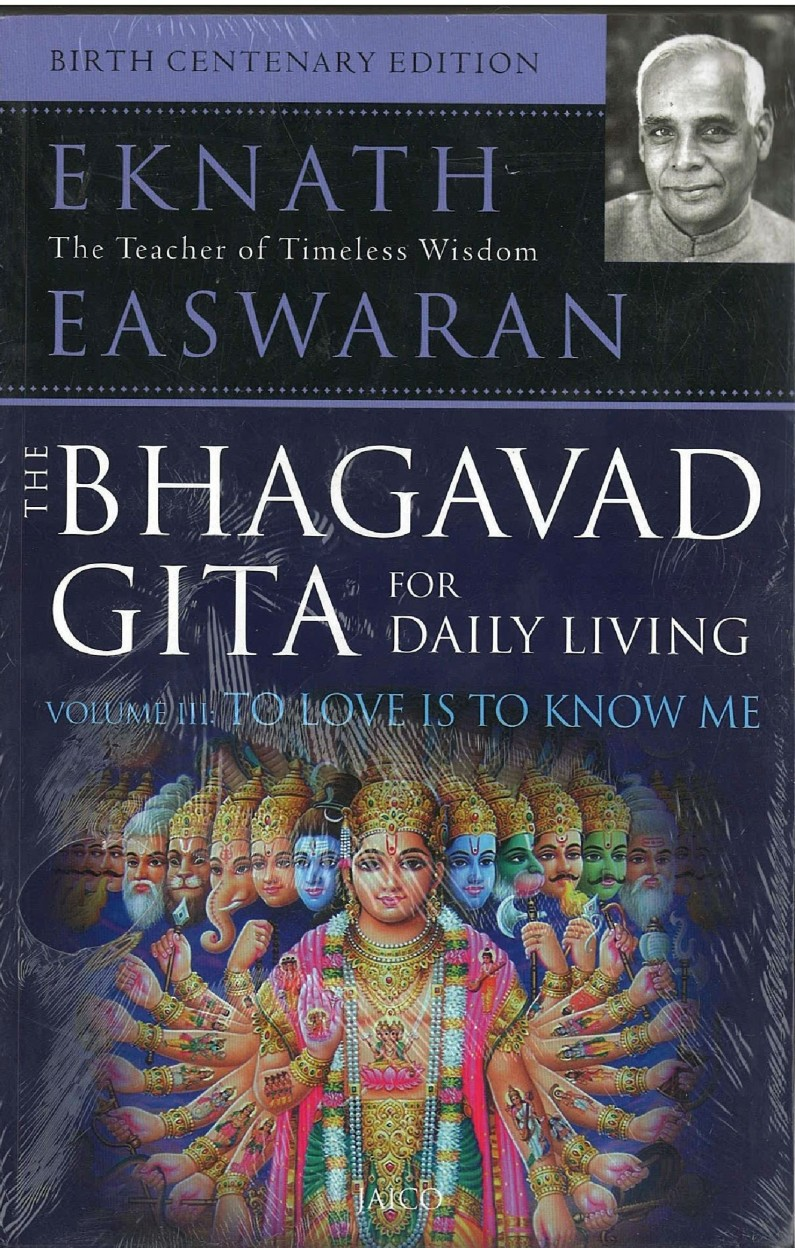 Bhagavad Gita For Daily Living