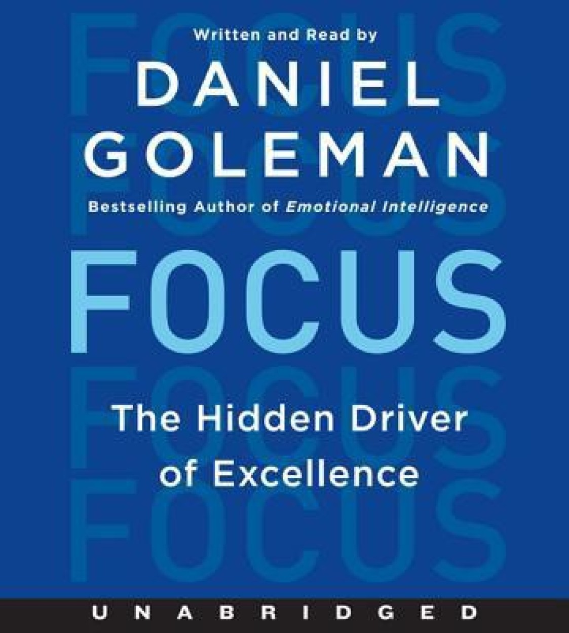 Focus: The Hidden Driver of Excellence Audio Book
