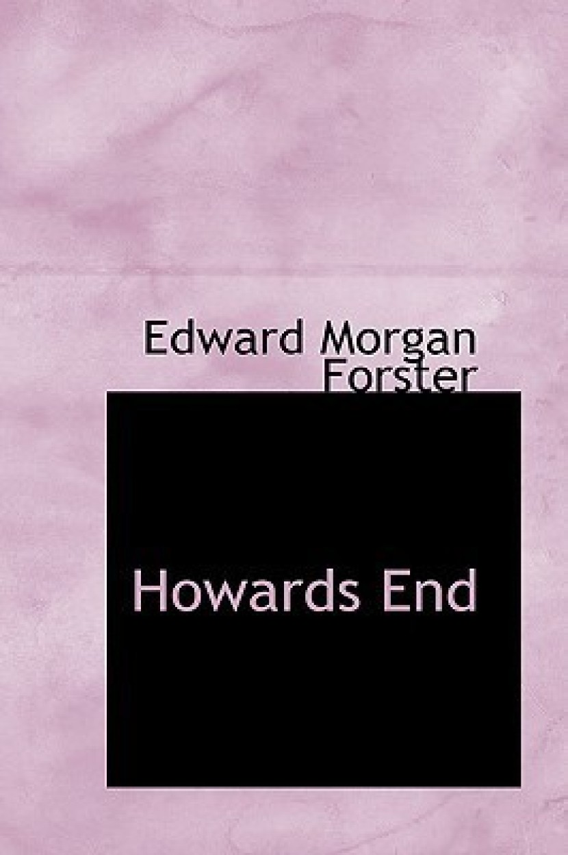Howards End by Edward Morgan Forster