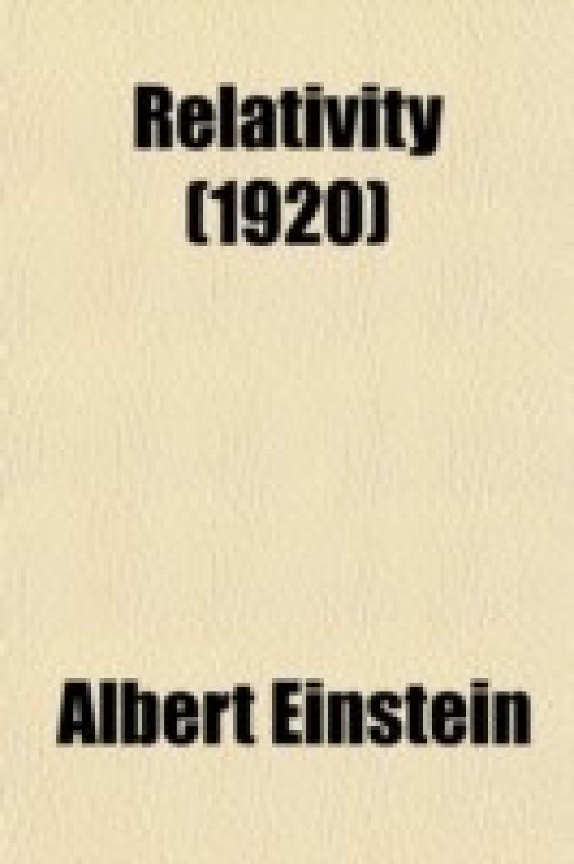 Relativity (1920)