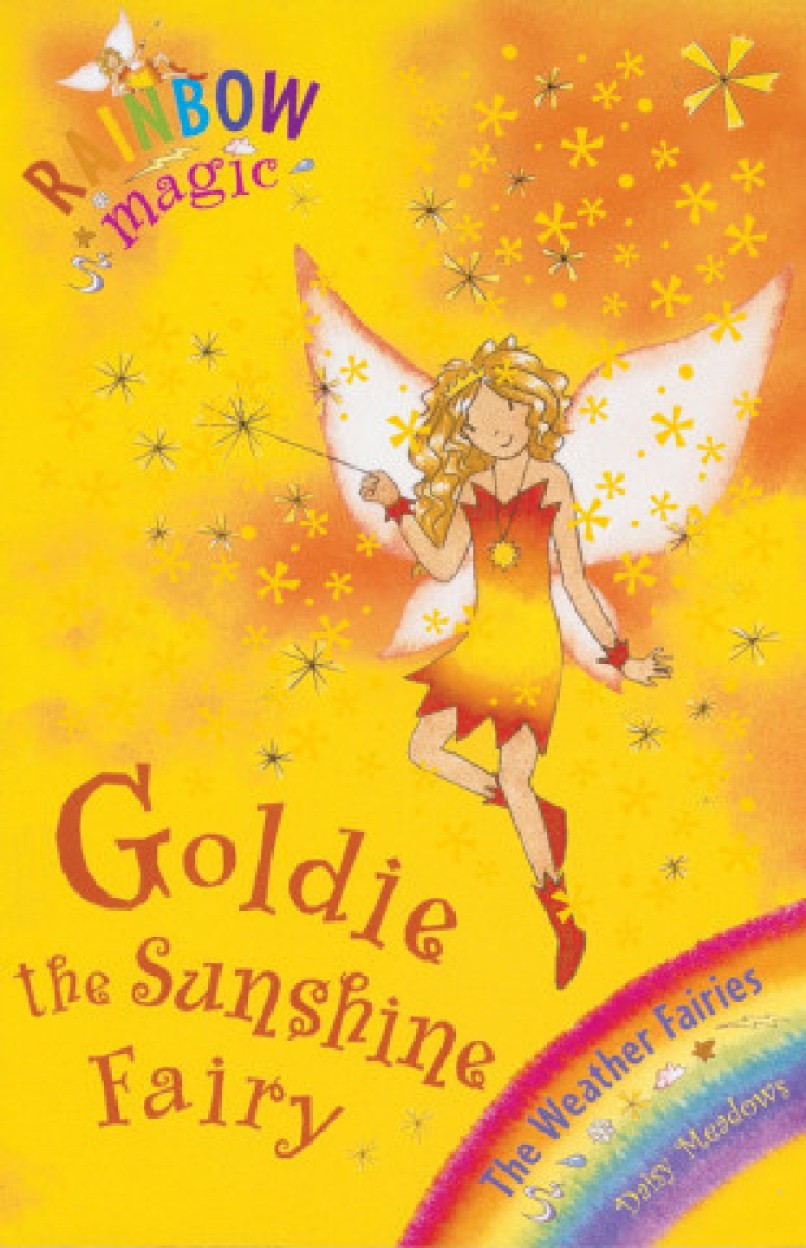 Rainbow Magic: The Weather Fairies: 11: Goldie The Sunshine Fairy