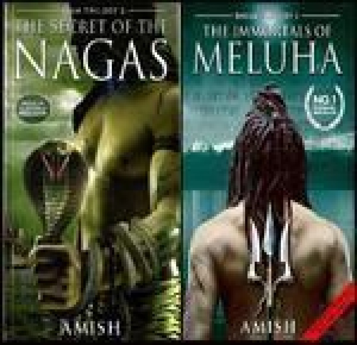 The Secret Of The Nagas & The Immortals Of Meluha (set of 2 books) (Paperback) The Secret Of The Nagas & The Immortals Of Meluha (set of 2 books) - Amish Tripathi