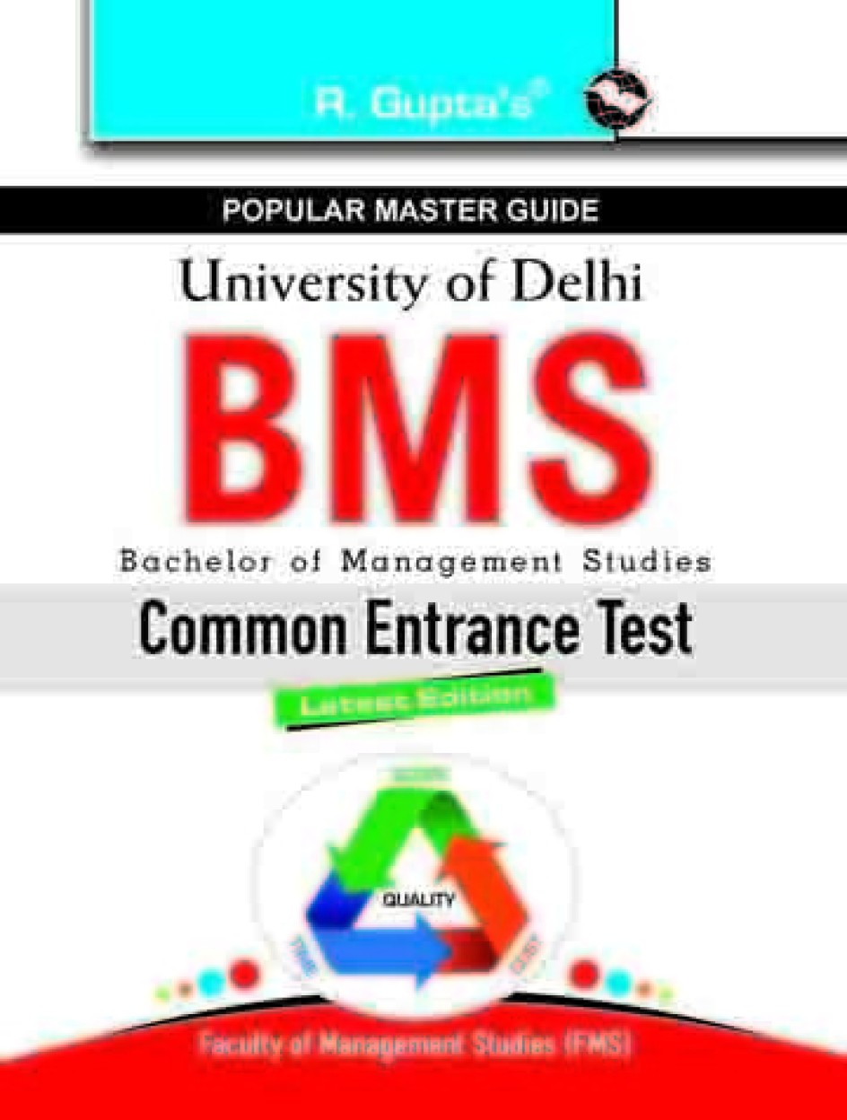 Delhi University CET for BBE, BBS & BFIA Entrance Exam Guide