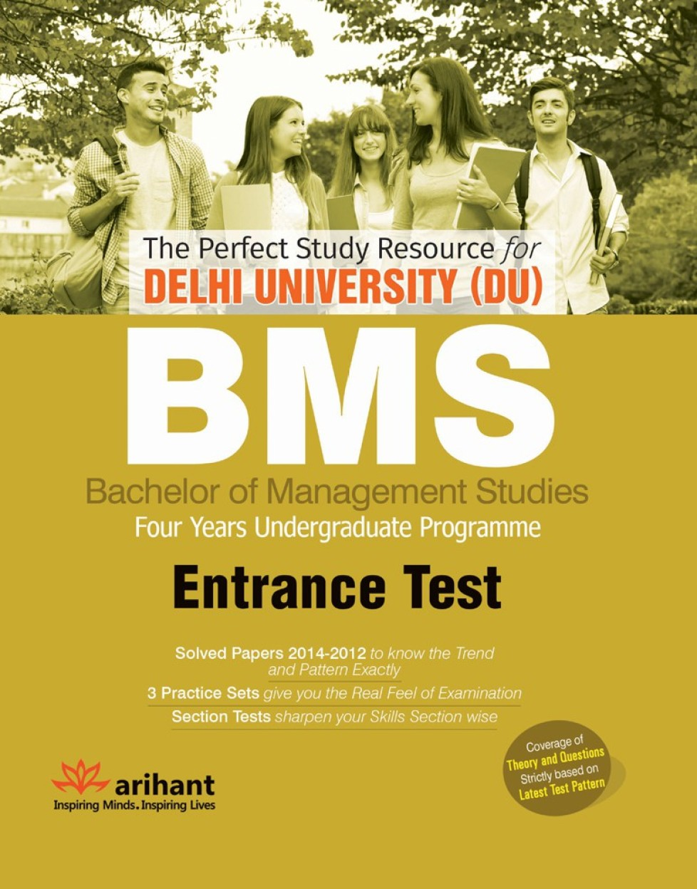 The Perfect Study Resource For-Delhi University (DU) BMS Common Entrance Test by Arihant Experts