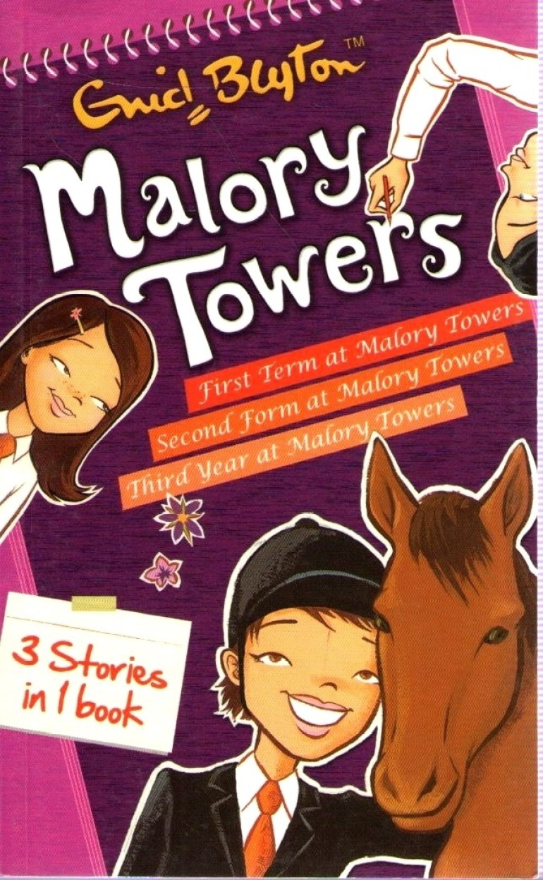 Malory Towers 3 In 1