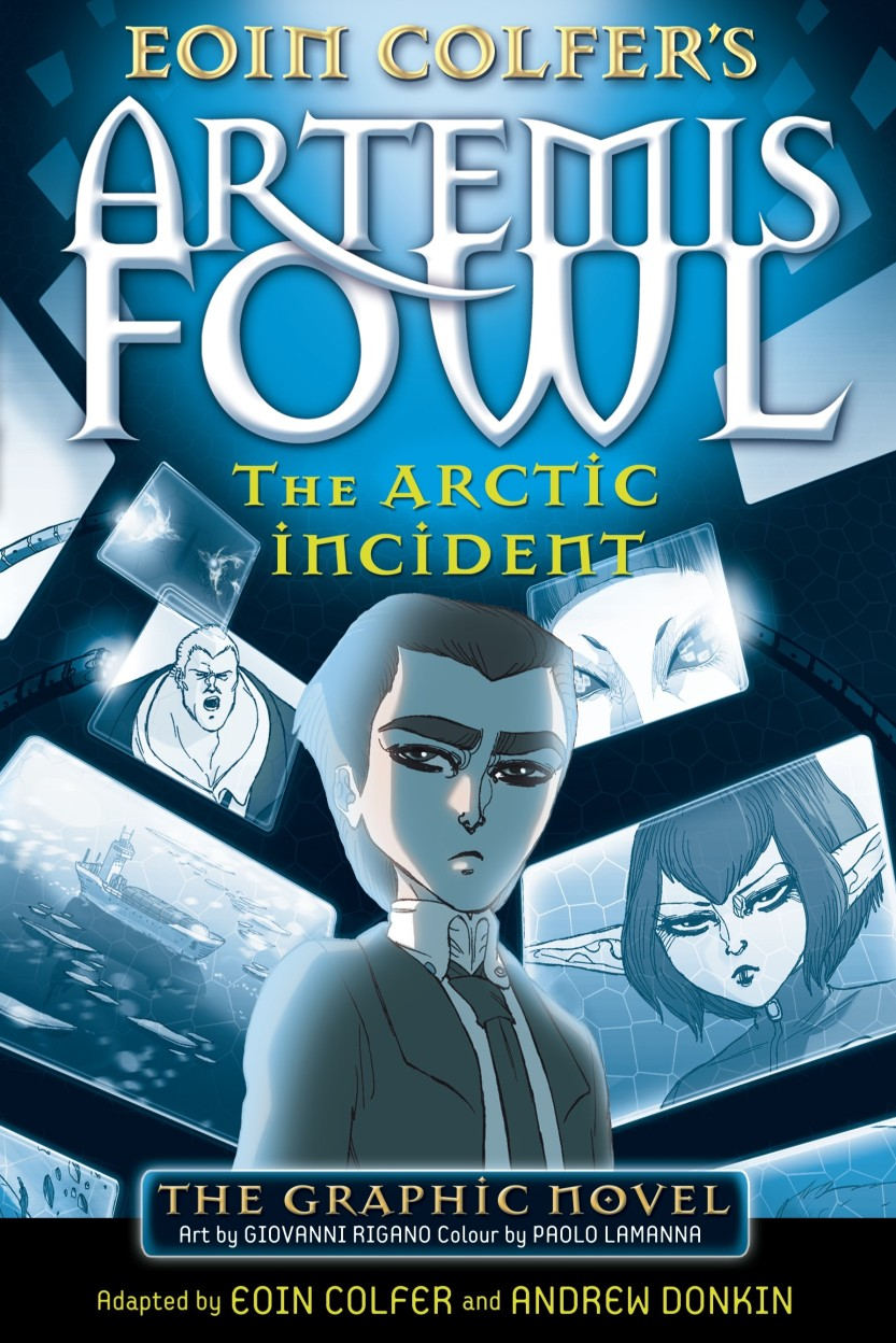 Arctic Incident The Graphic Novel                 by Eoin