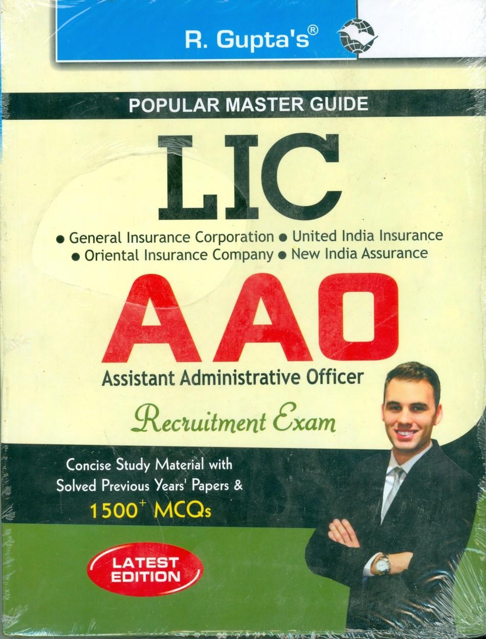 Populer Master Guide: L.I.C. A.A.O. Examination