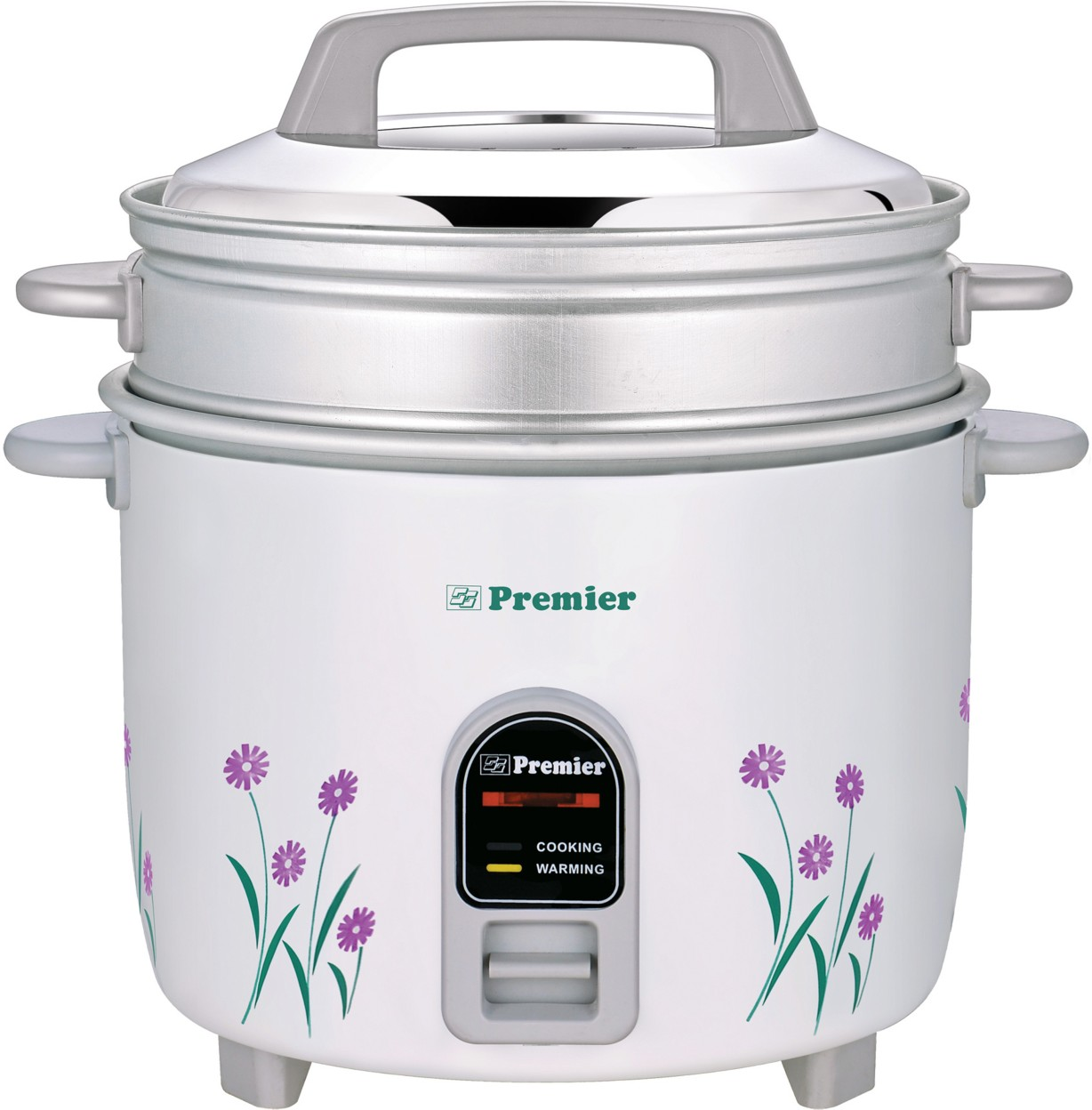 Merveilleux ... Premier ERC22ES Electric Rice Cooker With Steaming Feature (2.2 L,  White) Image 2 ...