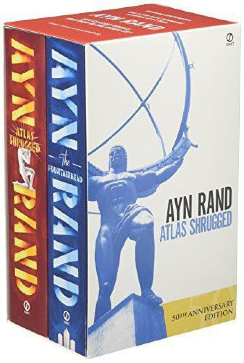 Ayn Rand (Set Of 2 Book)