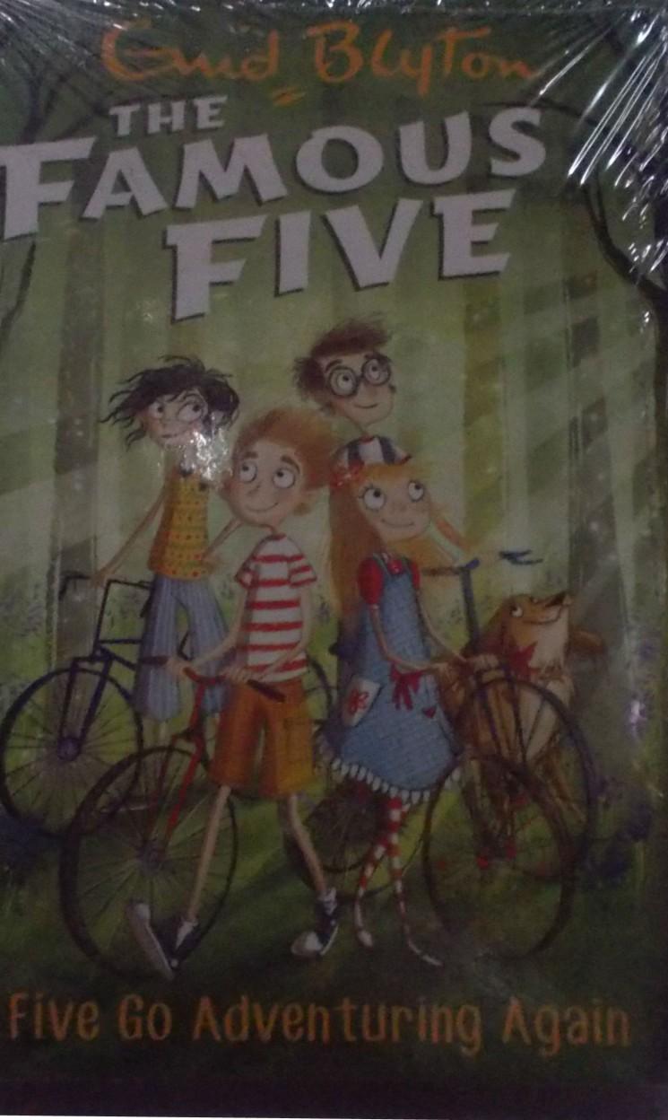 The Famous Five: Five Go Adventuring Again (Book - 2) - Enid Blyton