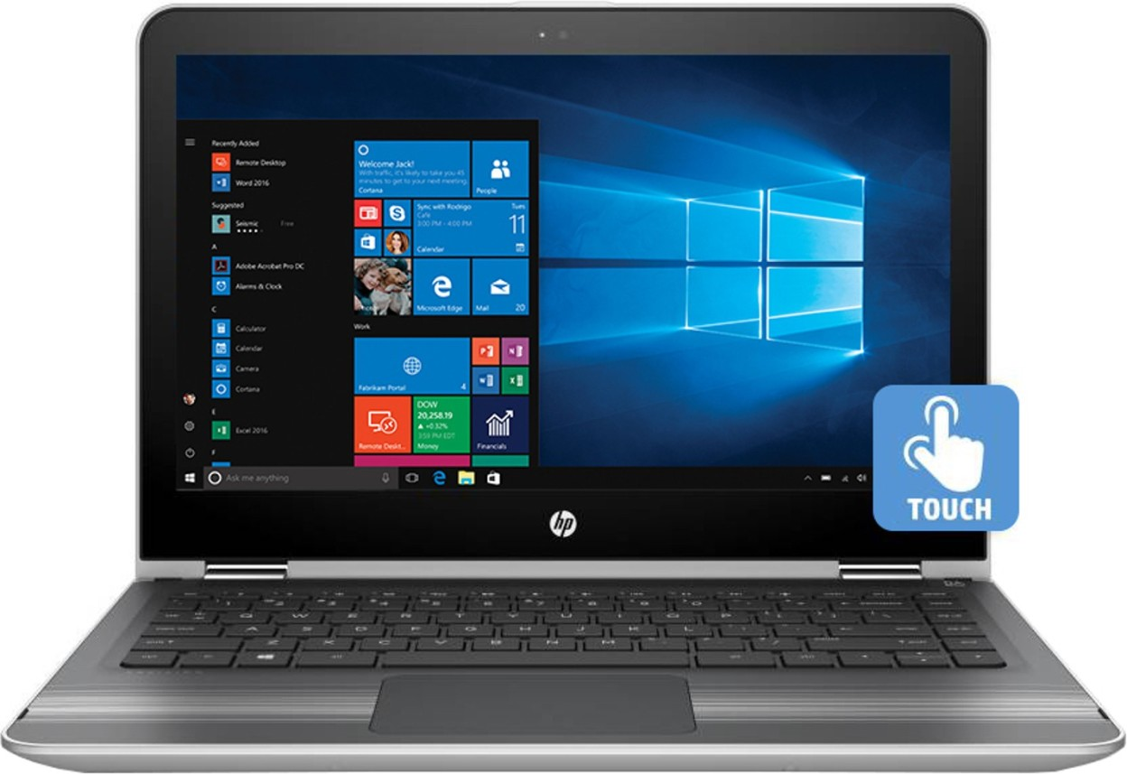 HP Pavilion 13-U133TU x360 13.3-inch (7th Gen Core i5-7200U/8GB/1TB/Windows 10 Home/Integrated Graphics)