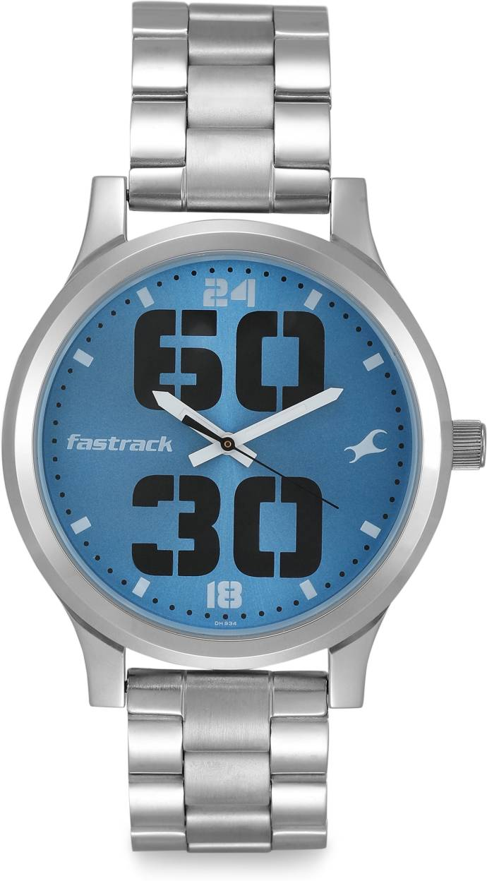 Fastrack 38051SM09 Bold Fonts Analog Watch - For Men