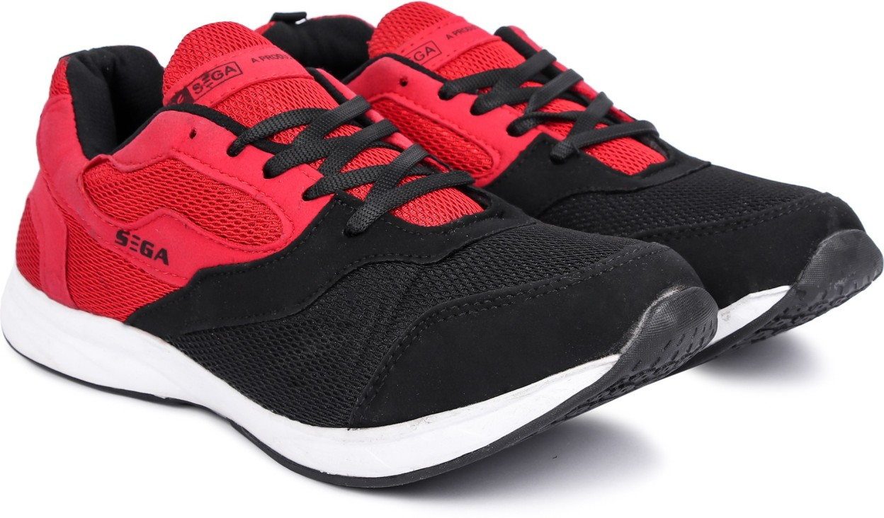 SEGA RedBlack Marathon Running Shoes
