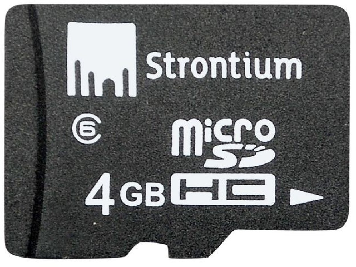 Strontium Micro Sd 4gb Class 6 Price In India Coupons And Sandisk Microsd 4 Gb Card 24 Mb S Memory Image 2