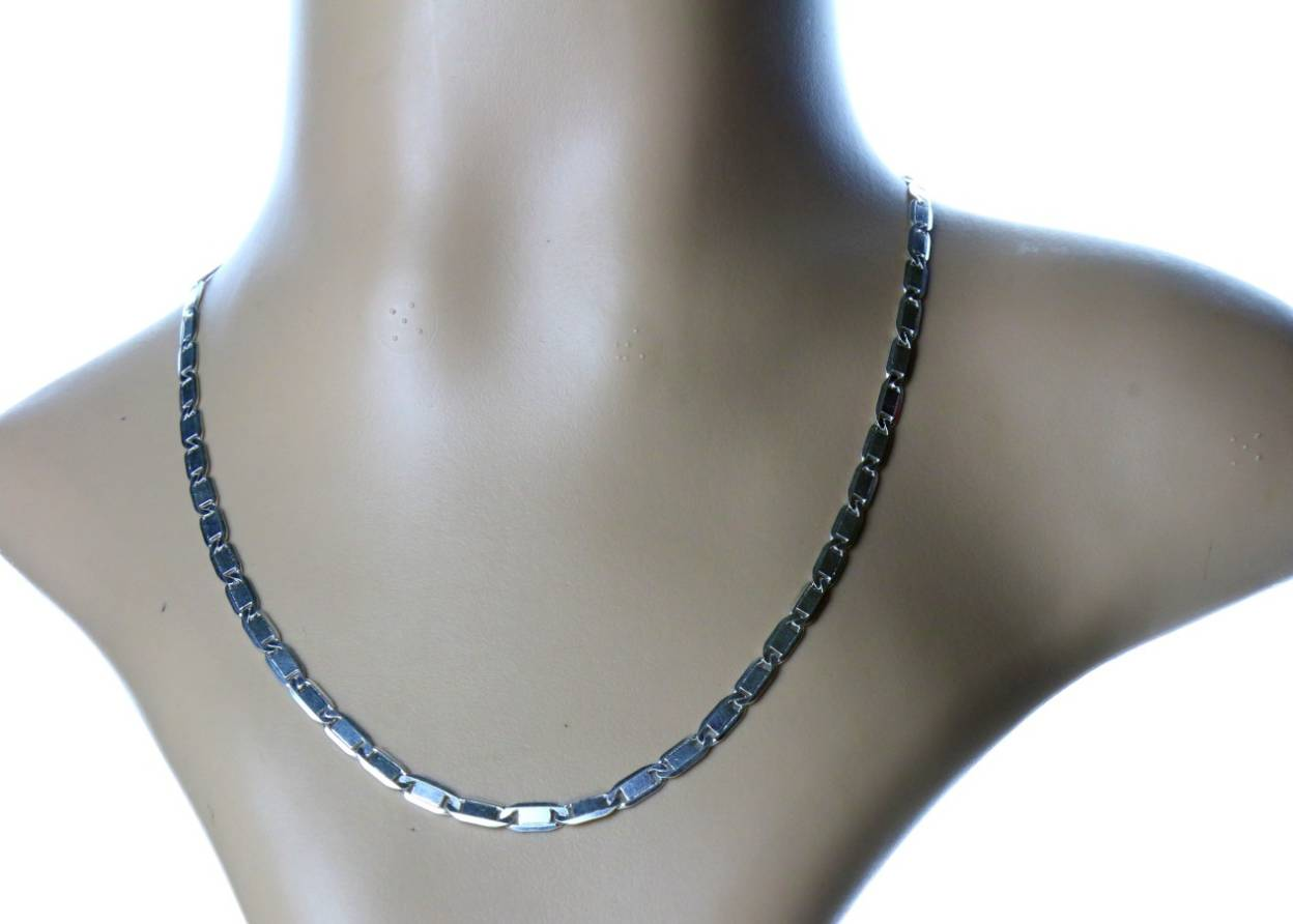 Arisidh Exclusive Stylish Design 925 Pure Sterling Silver Chain ...