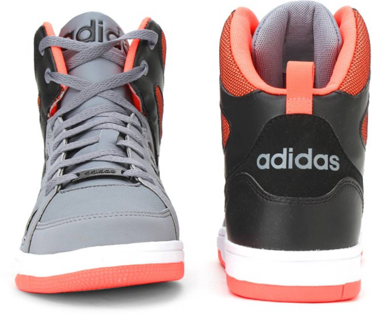 more photos 9864d ae6ec ... Home   Adidas Neo HOOPS TEAM MID Mid Ankle Sneakers(Grey). product  image ...