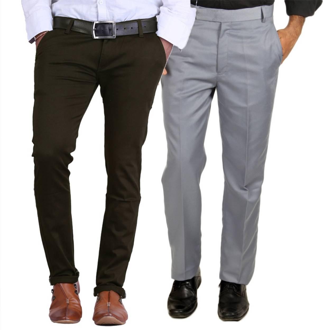 Van Galis Regular Fit Men S Multicolor Trousers