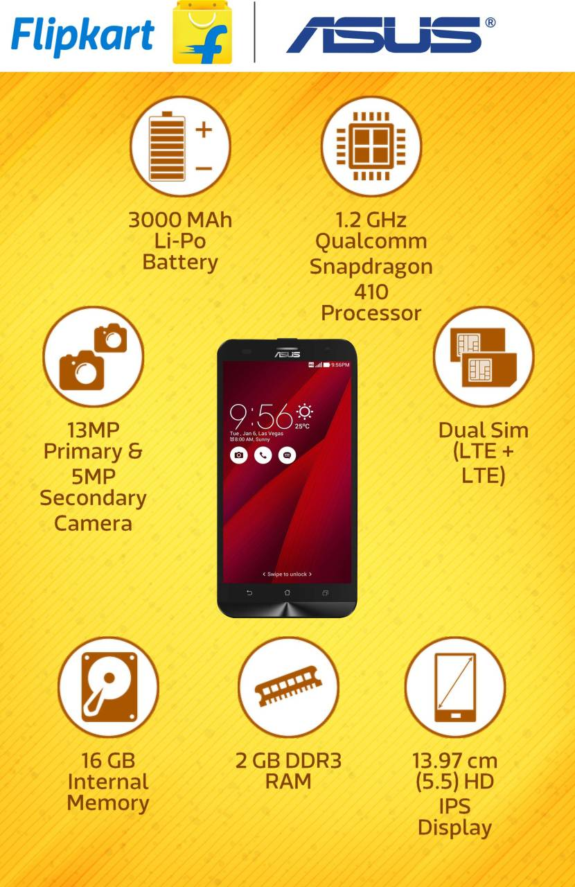 Asus Zenfone 2 Laser Ze550kl Red 16 Gb Ze 550kl Tap To Expand