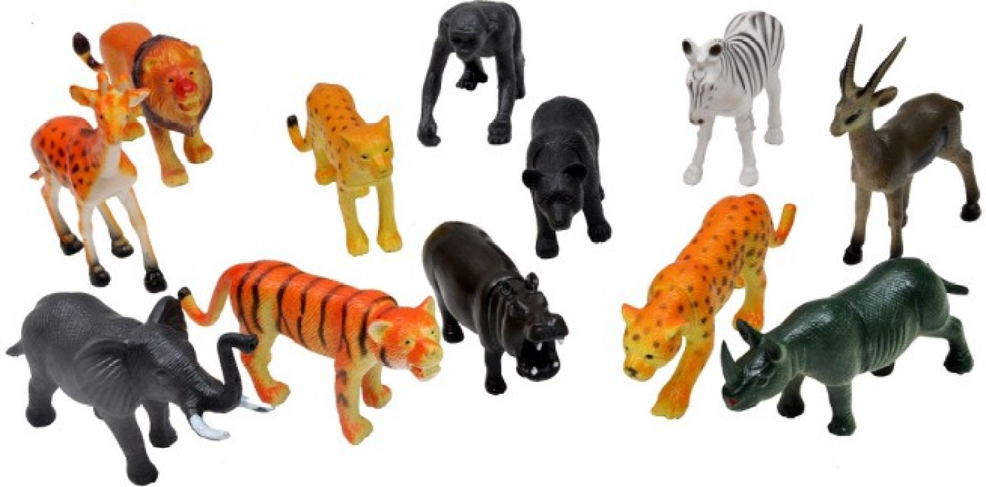 Best Animal Planet Toys For Kids And Toddlers : A b wild animals plastic toys for kids