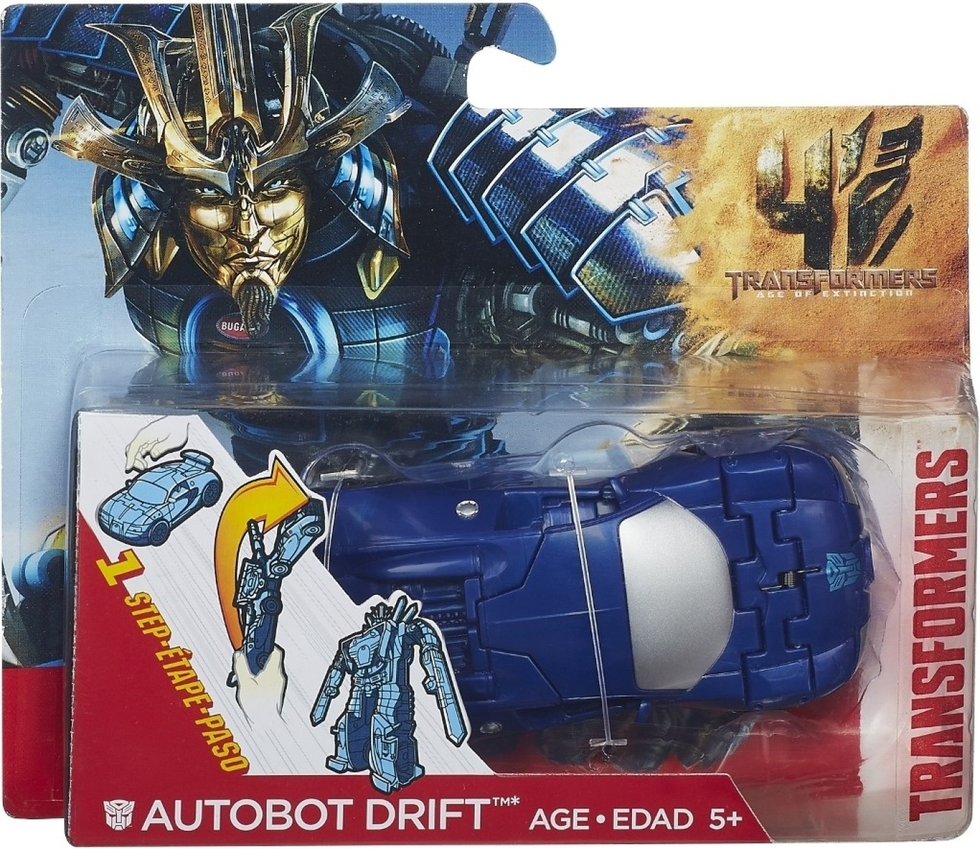 Hasbro Transformers MV4 One Step Changers W1R2 - Autobot ...