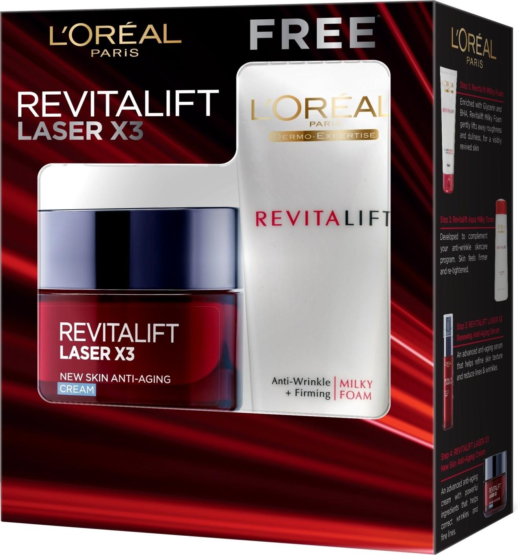 L'Oreal Paris Revitalift Laser X3 New Skin Anti-aging..