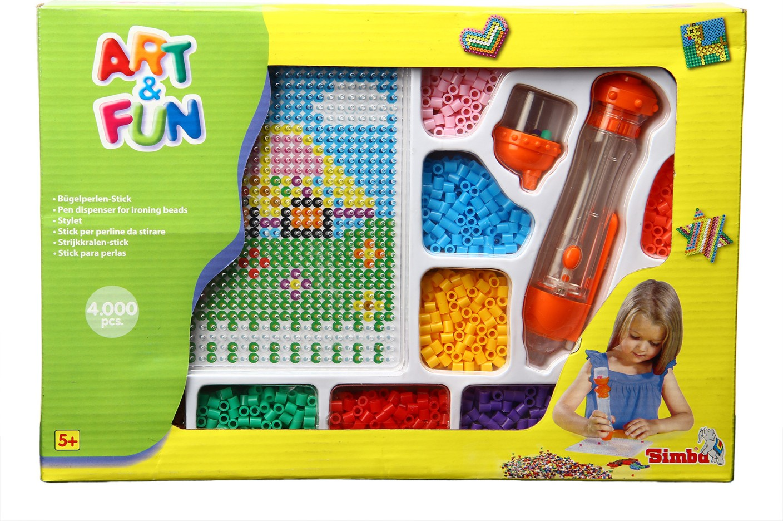 Simba art and fun iron beads feeding pen set blister