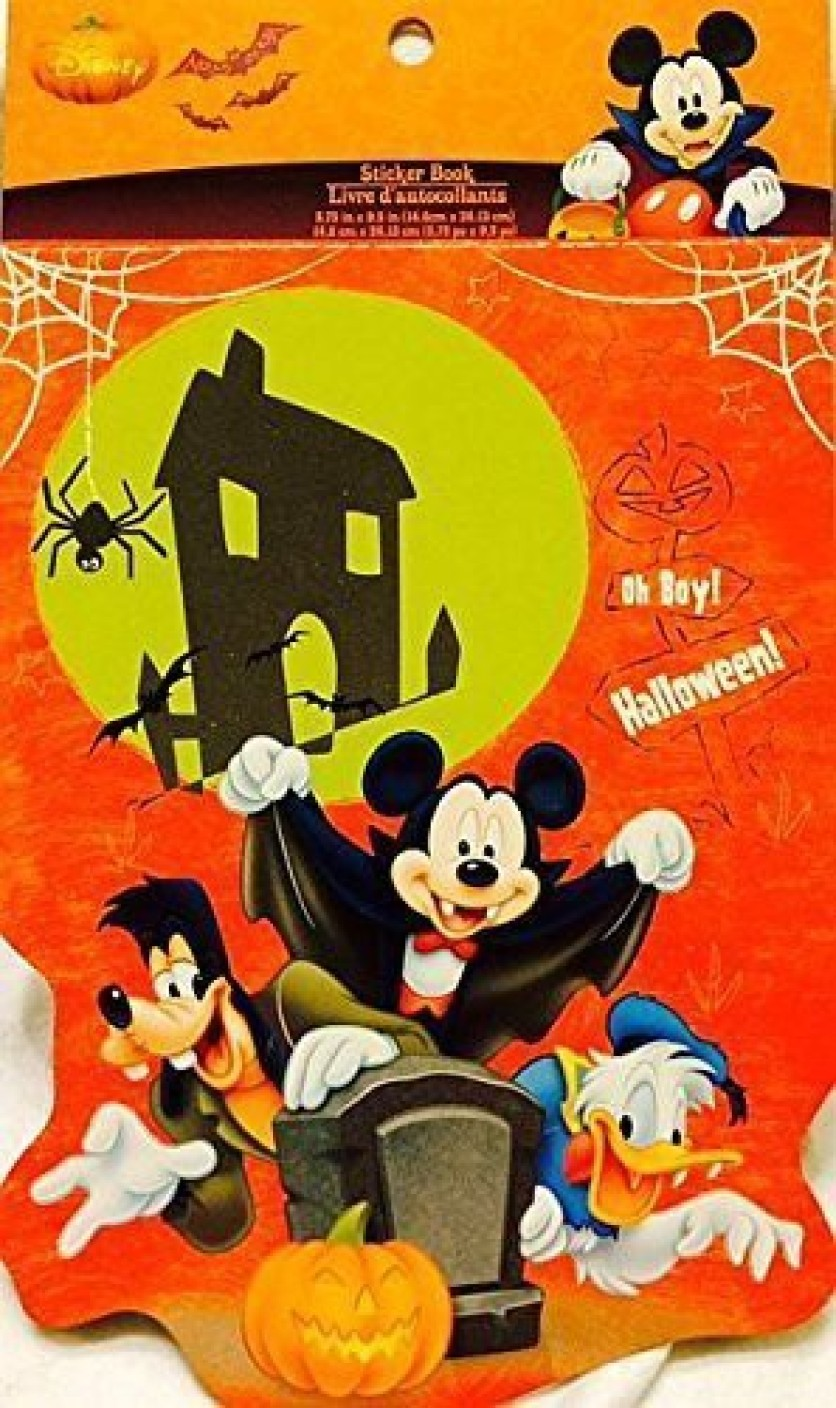 Disney Mickey Mouse Clubhouse Let\'s Trick Or Treat Stickers 5 Sheets ...