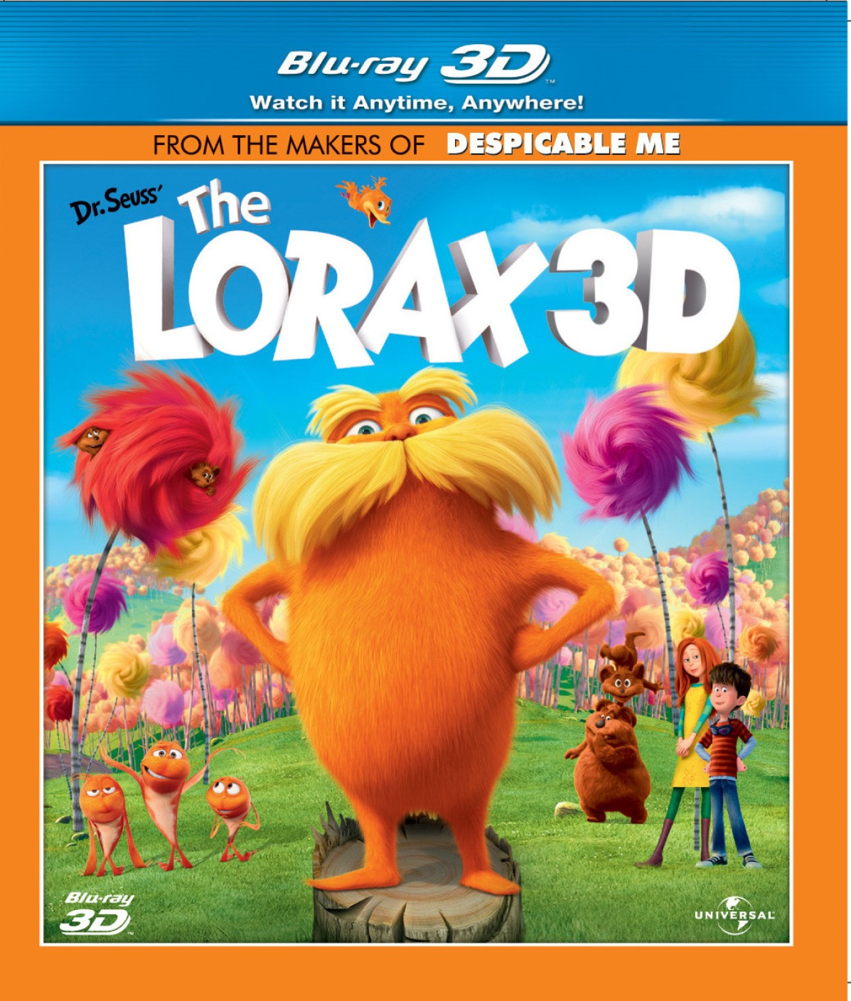 Dr Seuss The Lorax Full Movie In English: The Lorax 3D Price In India