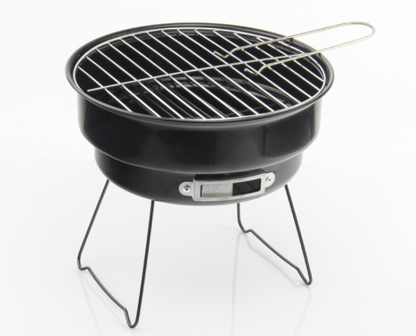 how to cook on a mini charcoal grill