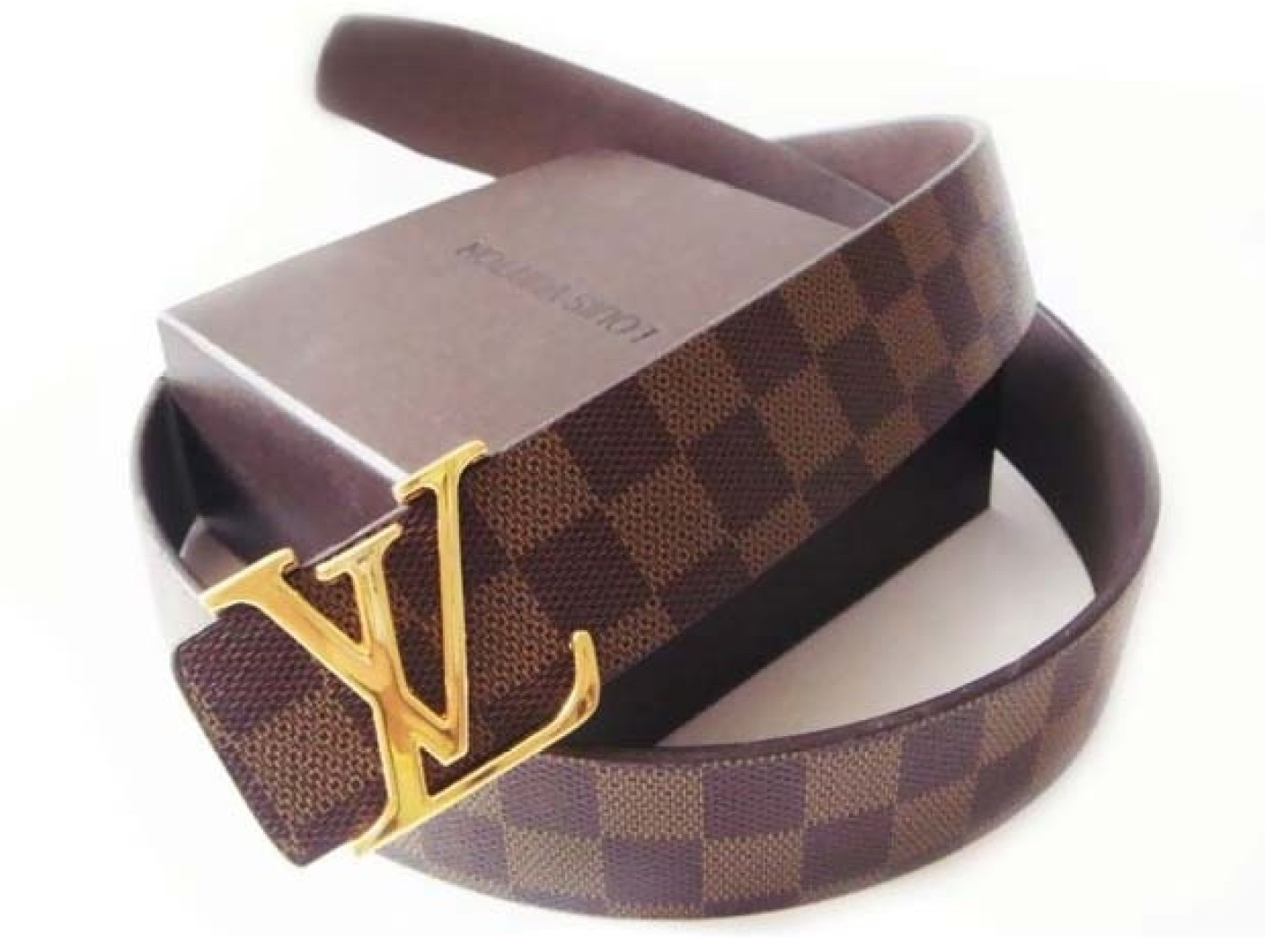 Louis Vuitton Men Casual Multicolor Belt Multicolor