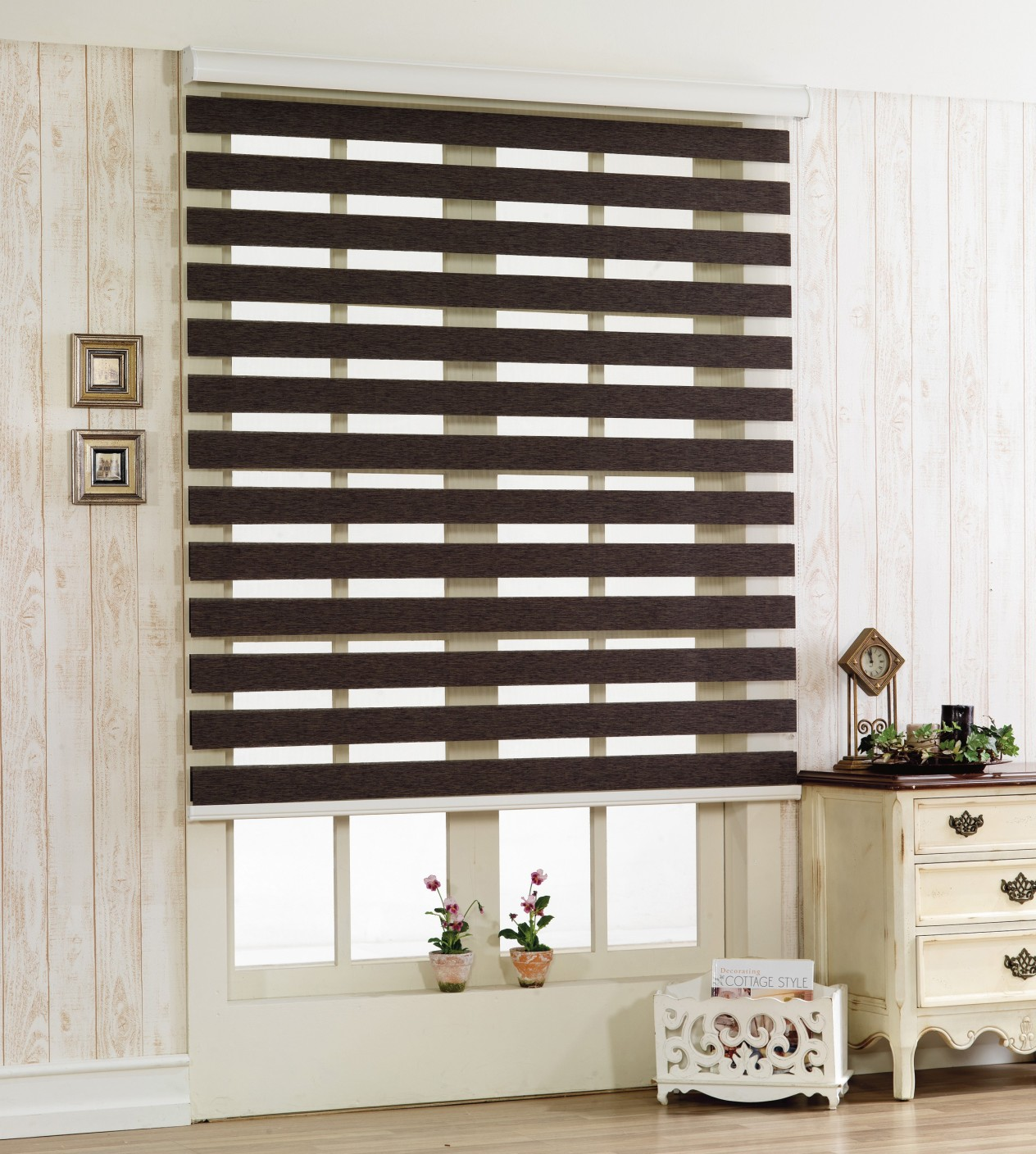 Johnson Blinds Double Roller Blind Cord Drawn Price In
