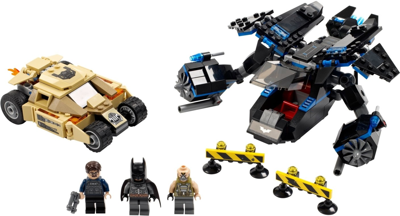 lego dc universe super heroes the bat vs bane tumbler chase
