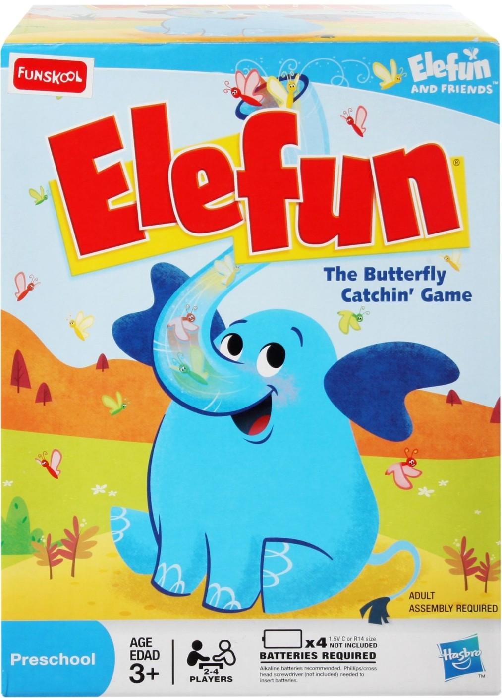 Funskool Elefun The Butterfly Catchin' Board Game - Elefun ...