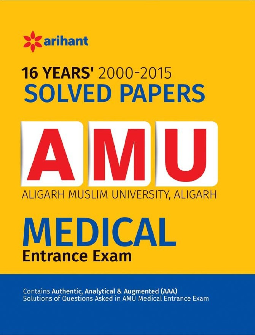 AMU 2018 Sample Paper Download PDF