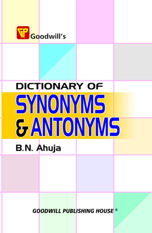 Antonym in American English