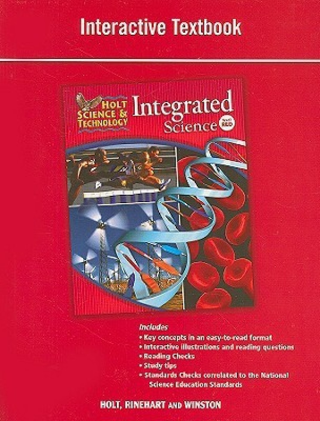 Holt Science & Technology: Integrated Science, Level Red ...