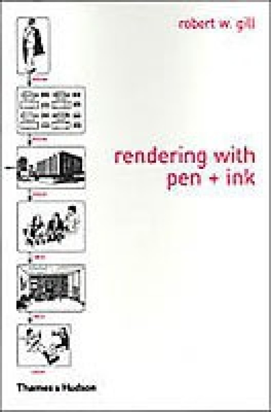 rendering with pen and ink - buy rendering with pen and ink by