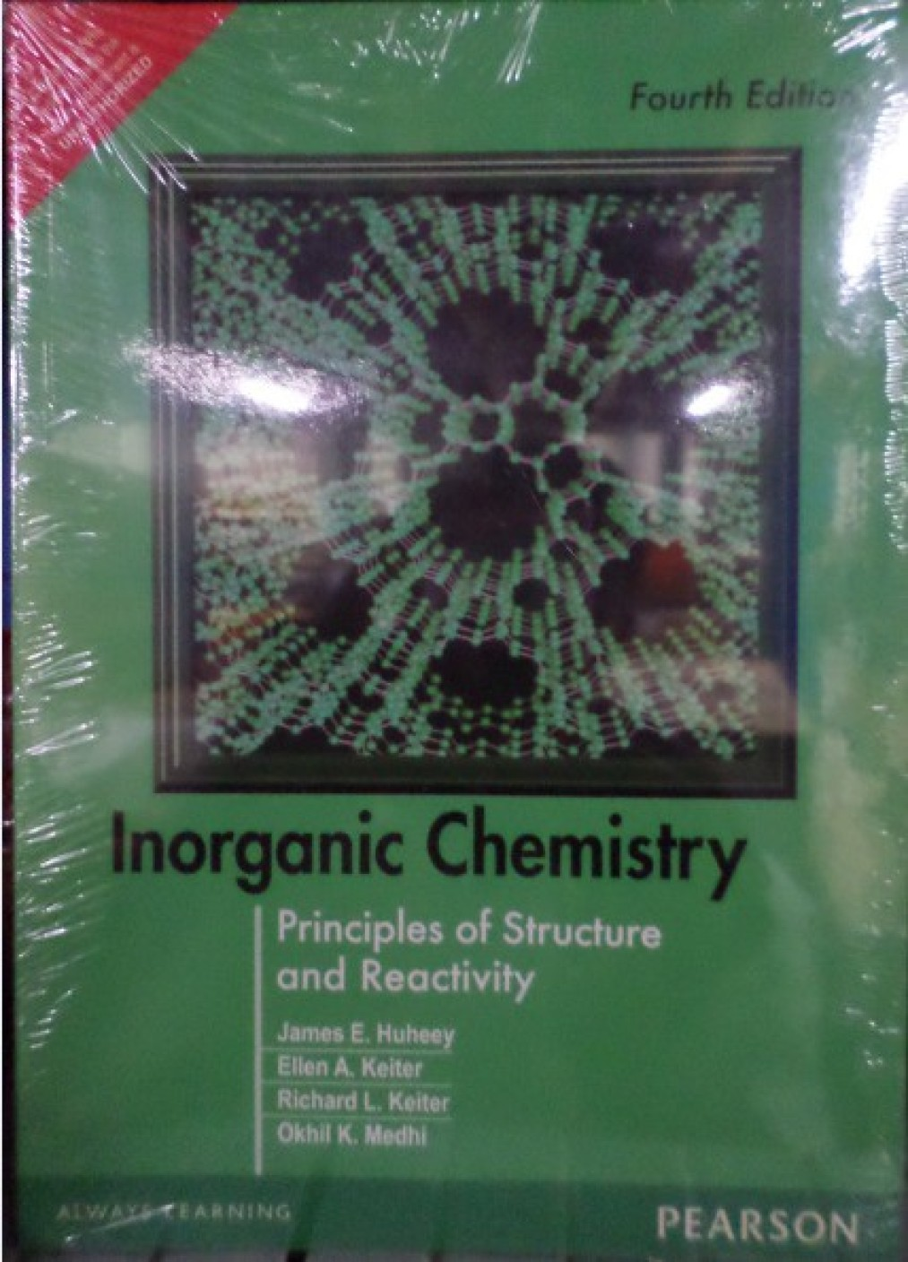 inorganic chemistry principles of structure and reactivity th add to cart