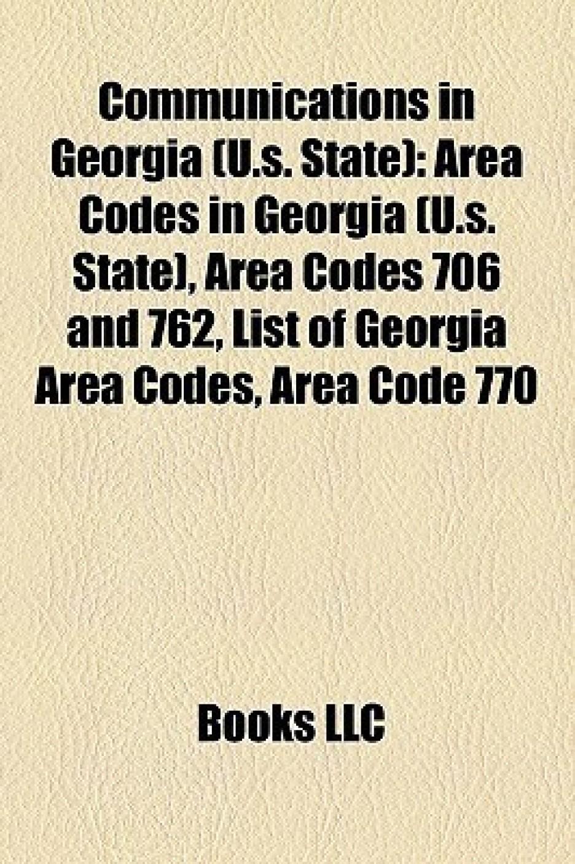 Communications in Georgia US State Area Codes in Georgia