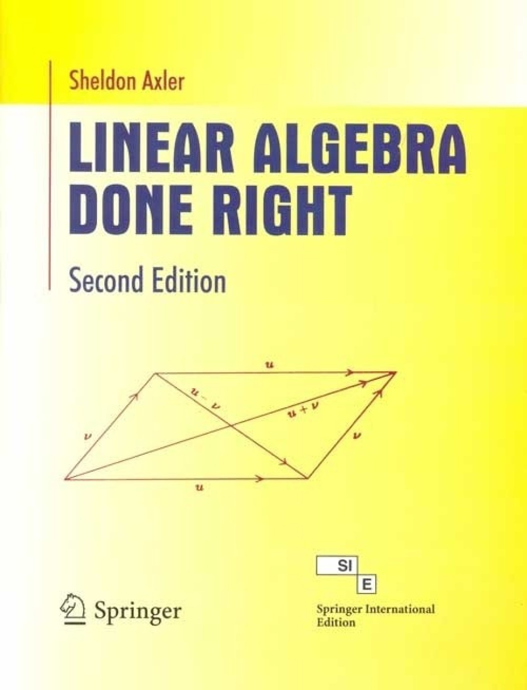 linear algebra done right  2  e pb 2nd edition