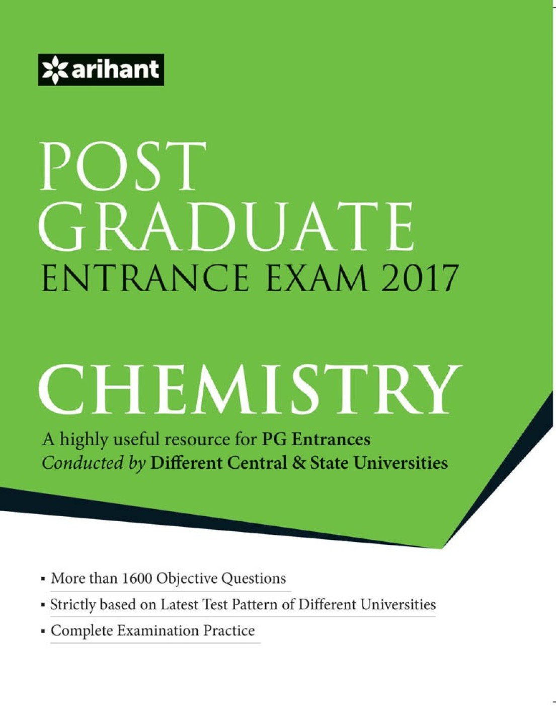Post Graduate Entrance Examinations 2016 CHEMISTRY Second ...